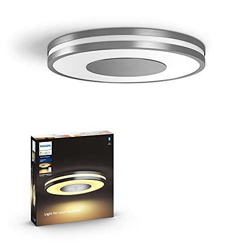 Philips Hue White Ambiance Being Dimmable LED Smart Flushmount (Requires Hue Hub, Works with Alexa, HomeKit & Google Assistant)