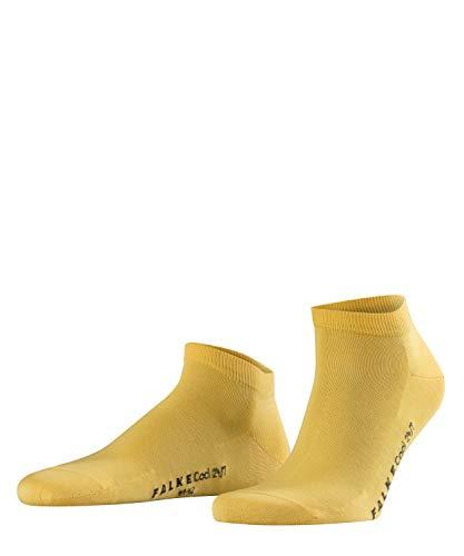 FALKE Herren Sneakersocken Cool 24/7, 80% Baumwolle, 1 Paar, Gelb (Mustard 1187), Größe: 41-42