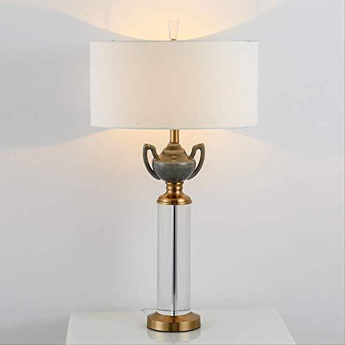 Forma de tetera de cerámica K9 Cristal Pilar Cuerpo Lámpara de mesa...