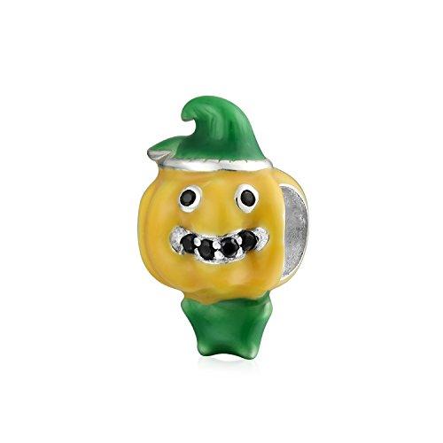 Squash Kürbis Gemüse Garten Lebensmittel Liebhaber Charm Perle Für Frauen Für Teen 925 Sterling Silber Passt Europäische Armband