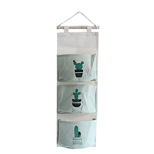 AIWKR Bolsas colgantes para almacenamiento, para ropa interior, accesorios de artículos de tocador, sujetador, calcetines, joyería Gadget
