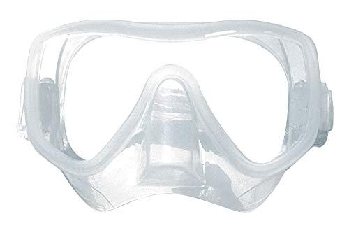 Sommap – Máscara de buceo Frameless Abyss de silicona clara