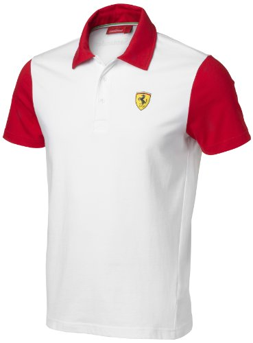 Ferrari Mens Alonso Polo Shirt Talla L