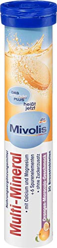 Mivolis Multi-Mineral Brausetabletten, 82 g, 20 Brausetabletten