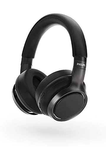 Philips TAH9505BK/00 kabellose Over-Ear-Kopfhörer, Noise Cancellation Pro, kabellose Over-Ear-Kopfhörer für Erwachsene, mit Doppel-Mikrofon, Bluetooth, 27 Stunden Spielzeit, Schwarz