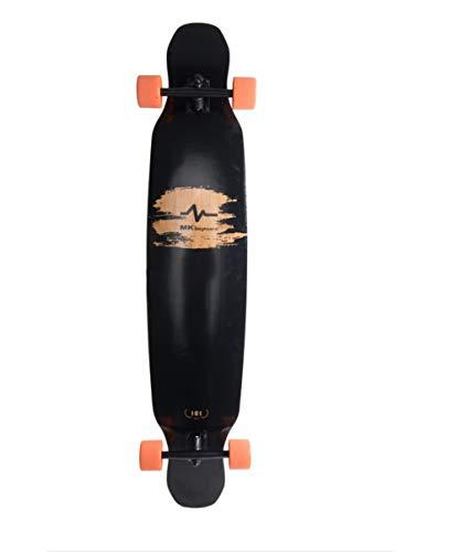 HYE-SPORT Skateboard Crucero 42Longboard Pro Dancing Patineta Doble Kick Deck Adecuado para Freeride al Aire Libre Desplazamientos Crucero para J/óvenes Los Adultos Ni/ños Principiantes