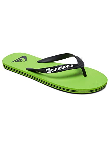 Quiksilver Molokai, Zapatos de Playa y Piscina para Hombre, Verde Green/Black...