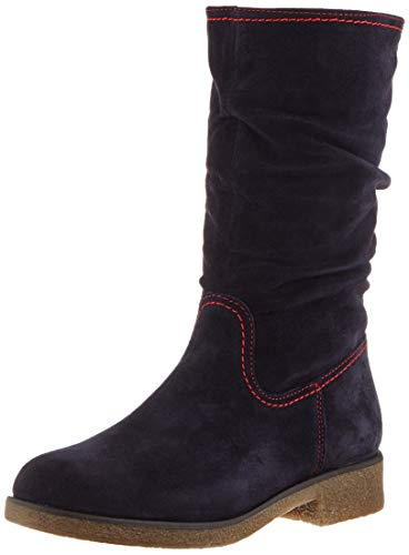 Tamaris Damen 1-1-26484-23 Hohe Stiefel, Blau (Navy/Red 852), 36 EU