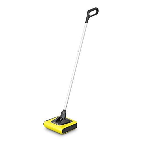 Kärcher Akkubesen KB 5 (Akkulaufzeit: bis zu 30 min auf Hartböden, ergonomische Reinigung ohne Bücken, randnahes Kehren, platzsparende Aufbewahrung, Parkposition, automatische An-/ Ausschaltung)