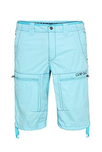 Camp David Herren Skater Bermuda mit Zippertaschen
