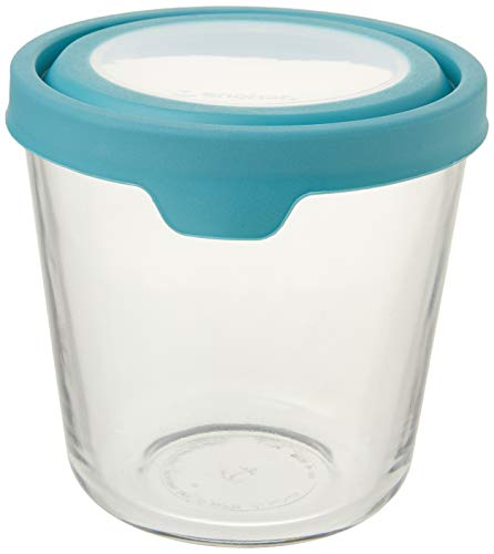Anchor Hocking Storage & Food Preperation Glass Food Storage 7-Cup Tall Mineral Blue,11839AHG17,2