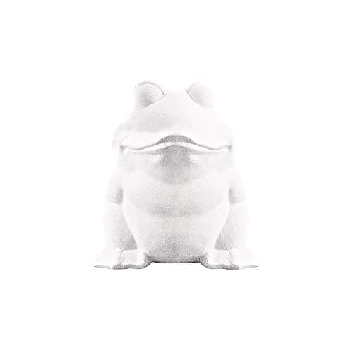 Rayher 3324200 Styropor-Frosch, 13 cm