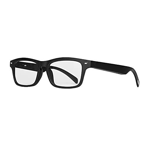 LHONG Gafas de Sol Deportivas Inteligentes con Audio con Lentes polarizadas y conectividad inalámbrica Bluetooth Gafas con Altavoz Abierto con Llamadas Manos Libres y música para Mujeres y Hombres