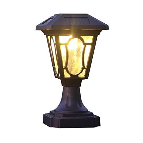 JJZXD Lámpara de Patio al Aire Libre Pared Impermeable Lámpara de Puerta Exterior Villa doméstica Luz de Puerta de jardín Faros de Villa Luces de Puerta