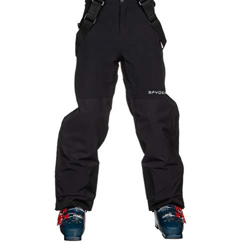 Spyder Kids Boy's Guard Side Zip Pants (Big Kids) Black 8 Big Kids