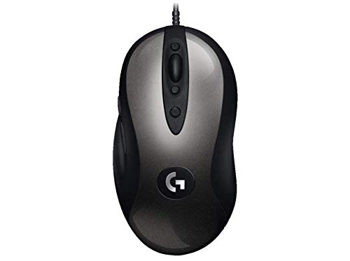 Logitech G MX518 Gaming Mouse Hero Sensor 16, 000 Dpi Arm Processor 8 Programmable Buttons (European Packaging) - Black