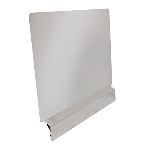 """Stainless Steel Splash Guard 20""""x18"""" for Fitting Most Deep Fryer SP-2018"""