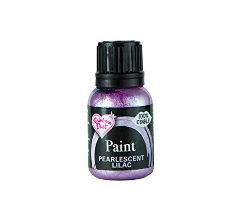 Rainbow Dust, metaliczny barwnik spożywczy Pearlescent Lilac