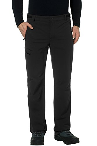 VAUDE Herren Hose Men's Farley Stretch Pants II, Black, 46, 045740100460