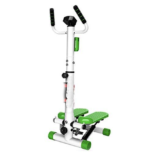 NGB Home Cardio Übung Mini Stepper mit Handle und Display Heart Rate Test Plus Langhantel, Magnettherapie Twist,Separateversion