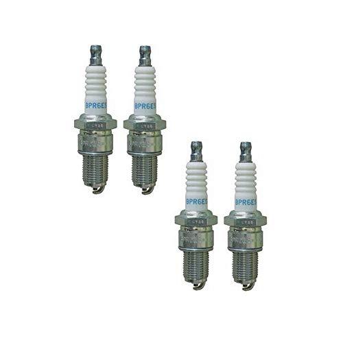 NGK Spark Plug BPR6ES- Set of 4