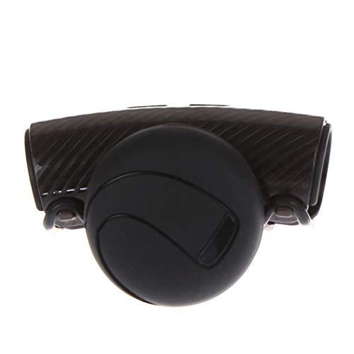 OOE Auto Car Styling Mango Mando del Volante Perilla Bola Bola Booster Control Spinner Durable Plástico (Size : A)