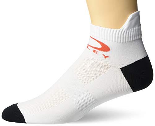 Oakley Herren Training Socks (2PCS) TRAININGSSOCKEN (2 STÜCK), weiß, Medium