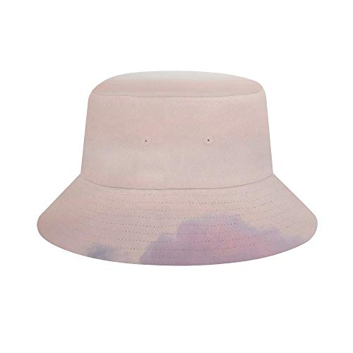 Unisex Bucket Hat Fisherman Hat Pastel Sky at Loughrigg Fell Outdoor Sun Hat Summer Fashion Travel Packable Cap