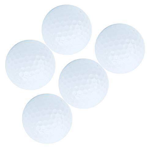 Qqmora 5pcs / Set Balle d'entraînement de Golf balles de Golf flottantes Pratiques pour Les Loisirs...