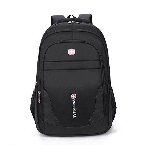 UKKO Men'S Backpack 17-INch Multi-Function Business Computer Bag Travel Student School Bag Red