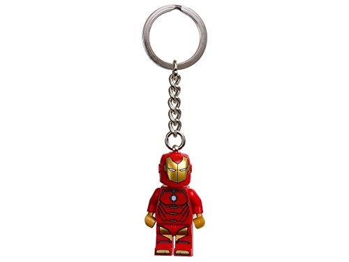 Lego Avengers Marvel Super Heroes - Schlüsselanhänger Invincible Iron Man - 7 cm