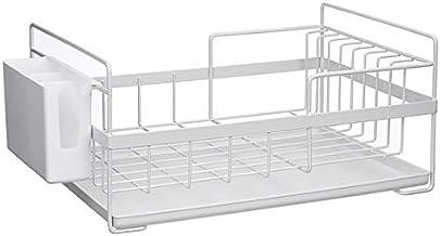 Multifunctionele Keuken Storage Organizer afdruiprek Droogrek Iron Sink Holder Tray for Shelf Basket Opslag Planken (Color...