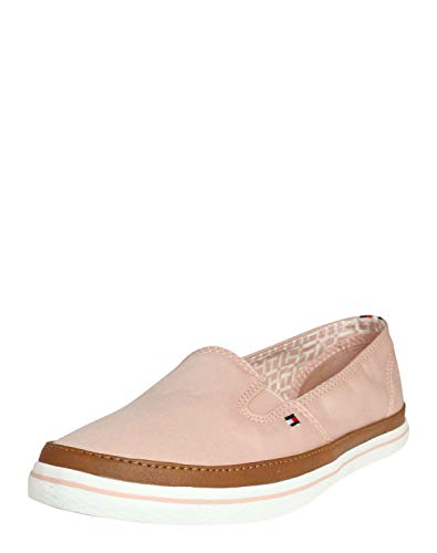 Tommy Hilfiger Damen ICONIC KESHA SLIP ON Slipper, Pink (Dusty Rose 502), 40 EU