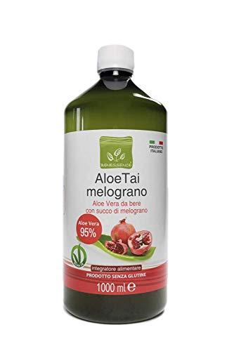 Benessence - Succo di Aloe Vera 85,2% con Melograno - 1000 ml