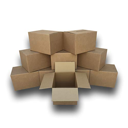 """uBoxes Moving Boxes Bundles Medium Boxes 18"""" x 14"""" x 12"""" - Pack of 15"""