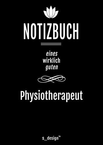 Notizbuch für Physiotherapeuten / Physiotherapeut / Physiotherapeutin: Originelle Geschenk-Idee [120 Seiten kariertes DIN A4 blanko Papier]