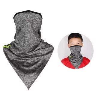 Itiban フェイスカバー ネックカバー 冷感 紫外線 対策 フェイス ネック ガード 夏用 吸汗速乾 メンズ レディース