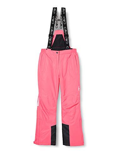 CMP - Mono de esquí para niña, Color Rosa Fluorescente, Talla 98