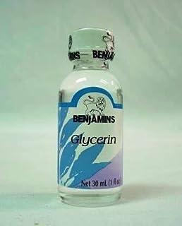 Benjamins Glycerin, 30ml (1 Fl Oz)