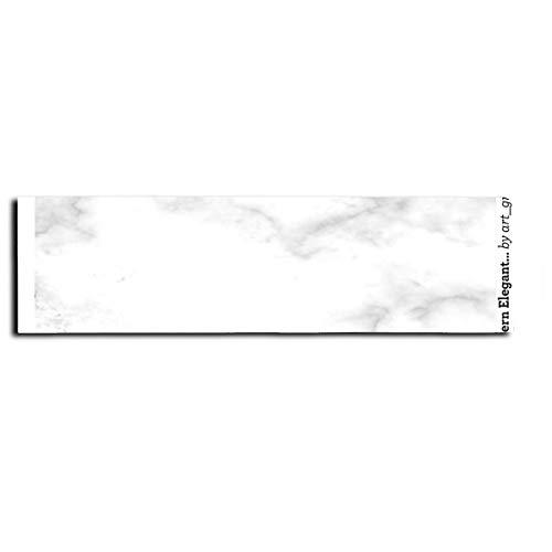 Weißer Marmor Modern Elegant Blank Schablone Skateboarding Aufkleber Longboard Tape Anti-Rutsch für Skate Scooter Longboard Rollerboard Treppen Pedal 9x33 Zoll