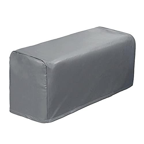 Copribraccioli per poltrona, 2 pezzi, in pelle PU, per poltrone, divani, sedie, elastiche, impermeabili, per braccioli
