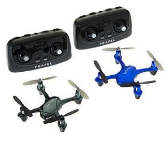 Zipp Drone 2-Pack w/Auto Start/Land and Training Mode   Black and Blue