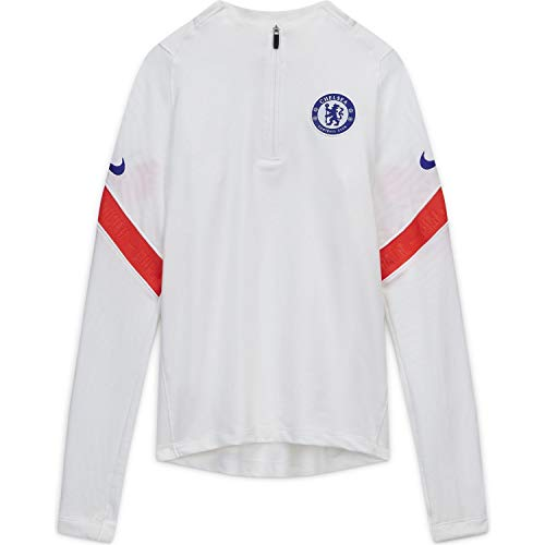 Nike 2020-2021 Chelsea CL Drill Training Top (White) - Kids