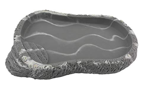 Lucky Reptile FDG Plat de Nourriture en Granit – Petit