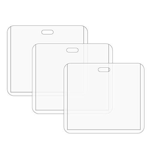 Funda protectora de tarjeta de certificado de registro de pase transparente Funda protectora de tarjeta de registro de 4x3 pulgadas Ahorre espacio Decoración del hogar Accesorios de gestión de almacen