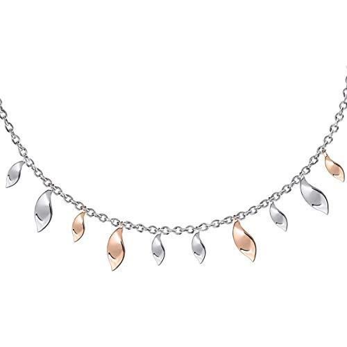 Morellato Collana da donna, Collezione Foglia, in argento 925 - SAKH49