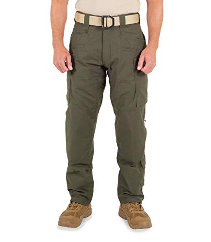 First Tactical Defender Pantalon Homme Noir, Oliv