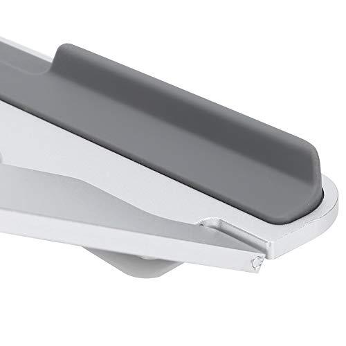 Soporte para computadora portátil, portátil Ajustable ergonómico para computadora portátil de 11 a 15,6 Pulgadas(Plata)