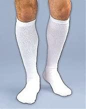 Activa 20-30 mmHg Unisex Knee High Athletic Support Socks Medium White