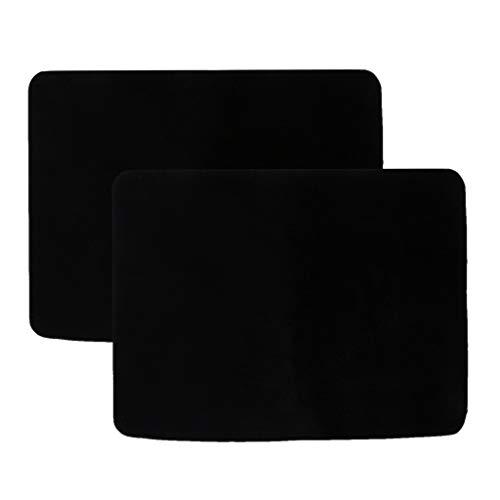 Baoblaze 2X Playing Cards Profi Pokermatte 42x32cm Pokertisch Matte - Pokertuch – Pokerteppich – Pokertischauflage